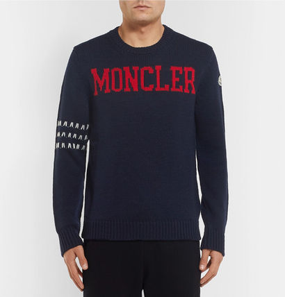 MONCLER Knits & Sweaters Stripes Wool Knits & Sweaters 2