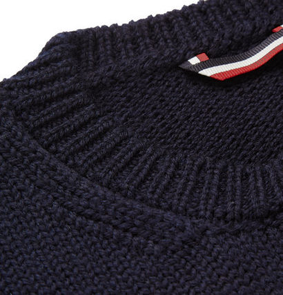 MONCLER Knits & Sweaters Stripes Wool Knits & Sweaters 5