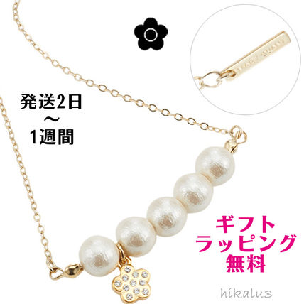 Casual Style Flower Chain Necklaces & Pendants