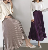 Flared Skirts Plain Skirts