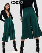 ASOS Casual Style Plain Culottes & Gaucho Pants