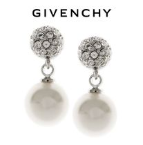 GIVENCHY Silver Elegant Style Earrings & Piercings