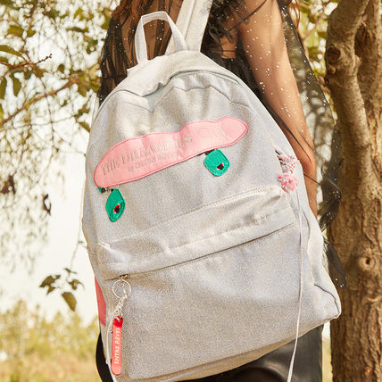 Casual Style Unisex A4 Backpacks
