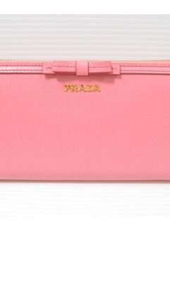 PRADA Long Wallets Plain Long Wallets 4