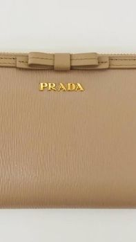 PRADA Long Wallets Plain Long Wallets 8