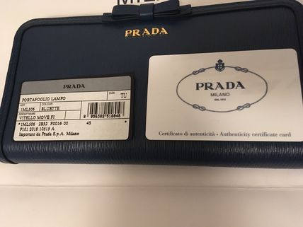 PRADA Long Wallets Plain Long Wallets 14
