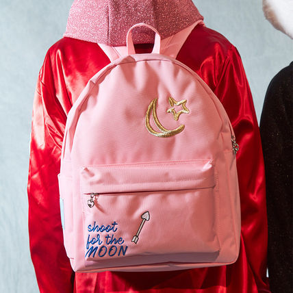 Star Casual Style A4 Backpacks