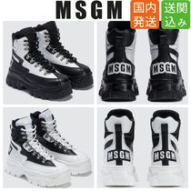 MSGM Casual Style Unisex Street Style Low-Top Sneakers