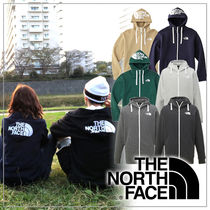 THE NORTH FACE Unisex Long Sleeves Plain Hoodies