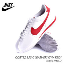 Nike CORTEZ Plain Leather Sneakers