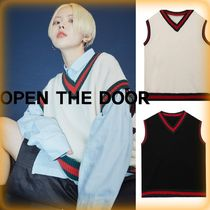 OPEN THE DOOR Casual Style Unisex Street Style Oversized Tanks & Camisoles
