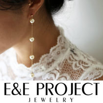 E and E PROJECT Chain Silver Earrings & Piercings