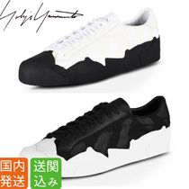 Y-3 Street Style Collaboration Plain Sneakers