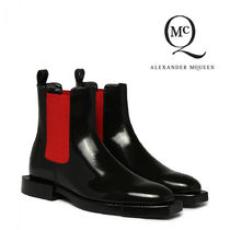 alexander mcqueen Rubber Sole Casual Style Ankle & Booties Boots