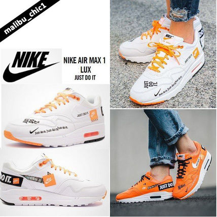 Nike Air Max 1 Low Top Sneakers 917691 100 By Malibu Chic1 Buyma