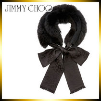 Jimmy Choo Silk Plain Detachable Collars