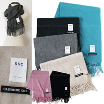 Ron Herman Unisex Cashmere Plain Special Edition Heavy Scarves & Shawls