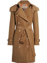 Burberry Plain Medium Elegant Style Coats