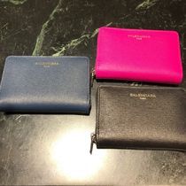 BALENCIAGA Leather Coin Purses