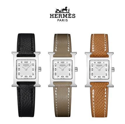 Leather Quartz Watches Elegant Style Analog Watches