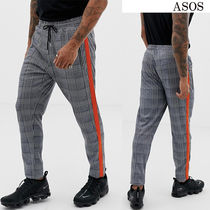 ASOS Stripes Other Check Patterns Unisex Street Style Cotton