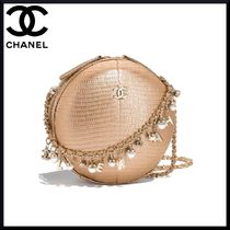 CHANEL 2WAY Chain Plain Elegant Style Shoulder Bags