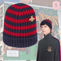 GUCCI Street Style Knit Hats