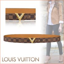 Louis Vuitton DAMIER Other Check Patterns Blended Fabrics Bi-color Elegant Style