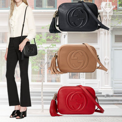 72796c7f3a25 GUCCI Soho Leather Shoulder Bags (308364 A7M0G 2754/1000/6523) by ...