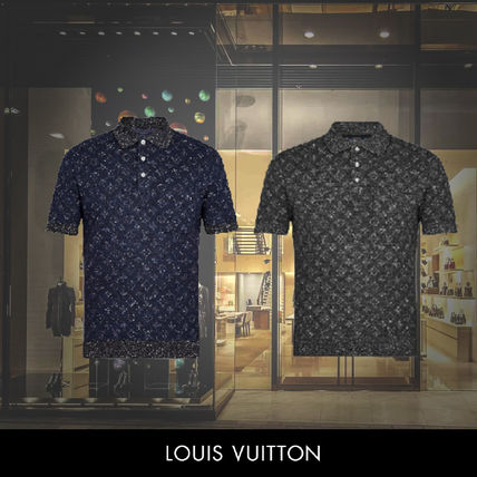 f2d9292124db Louis Vuitton 2018-19AW Monogram Tweed Short Sleeves Polos by ...