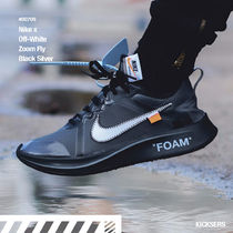 Nike AIR ZOOM Unisex Street Style Collaboration Sneakers