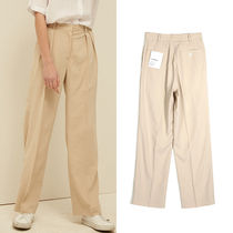 13MONTH Casual Style Unisex Street Style Plain Long Pants