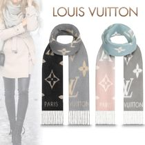 Louis Vuitton MONOGRAM Cashmere Bi-color Heavy Scarves & Shawls