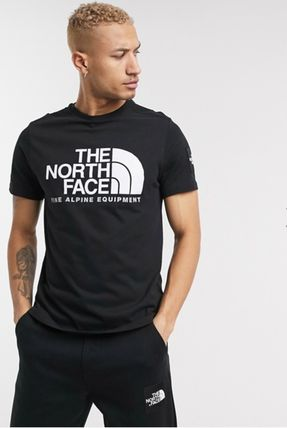 THE NORTH FACE Crew Neck Crew Neck Pullovers Unisex Street Style Plain Cotton 12