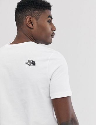 THE NORTH FACE Crew Neck Crew Neck Pullovers Unisex Street Style Plain Cotton 7