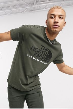 THE NORTH FACE Crew Neck Crew Neck Pullovers Unisex Street Style Plain Cotton 18