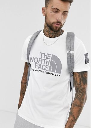 THE NORTH FACE Crew Neck Crew Neck Pullovers Unisex Street Style Plain Cotton 11