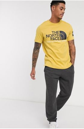 THE NORTH FACE Crew Neck Crew Neck Pullovers Unisex Street Style Plain Cotton 17