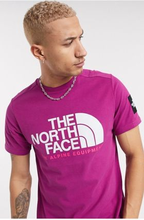 THE NORTH FACE Crew Neck Crew Neck Pullovers Unisex Street Style Plain Cotton 19