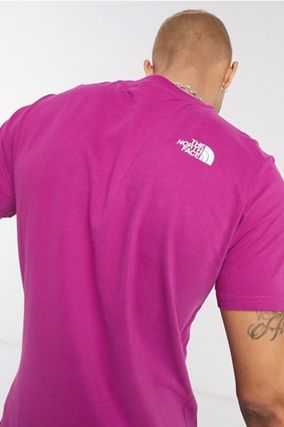 THE NORTH FACE Crew Neck Crew Neck Pullovers Unisex Street Style Plain Cotton 20