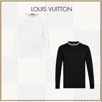 Louis Vuitton Street Style Long Sleeves Cotton Long Sleeve T-Shirts