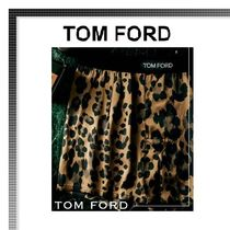 TOM FORD Leopard Patterns Silk Trunks & Boxers