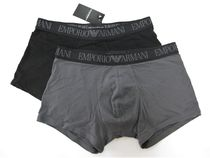 EMPORIO ARMANI Plain Cotton Boxer Briefs