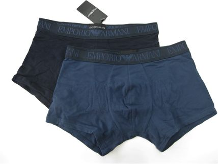 Plain Cotton Boxer Briefs