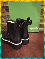 kate spade new york Plain Wedge Boots