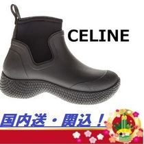 CELINE Rubber Sole Casual Style Blended Fabrics