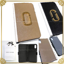 MARC JACOBS Unisex Leather Smart Phone Cases