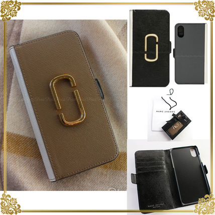 Unisex Leather Smart Phone Cases