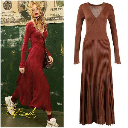 Casual Style Street Style Dresses