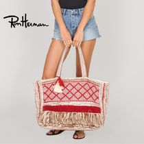Ron Herman Casual Style A4 Handmade Totes
